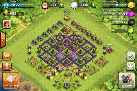 clash of clans strategy level 7 farming base design town hall town hall 7 farming bases clash of clans