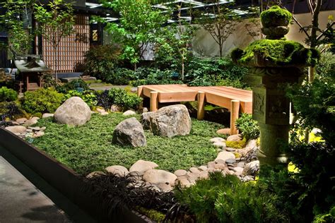 Ideas Japanese Landscape Design Small Japanese Garden Ideas Acehighwine