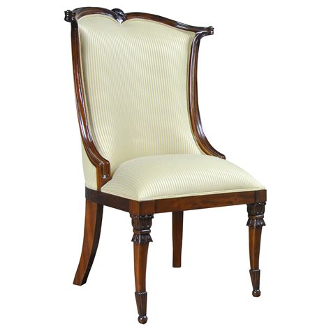 American Upholstery Furniture by American Upholstered Side Chair Niagara Furniture High End