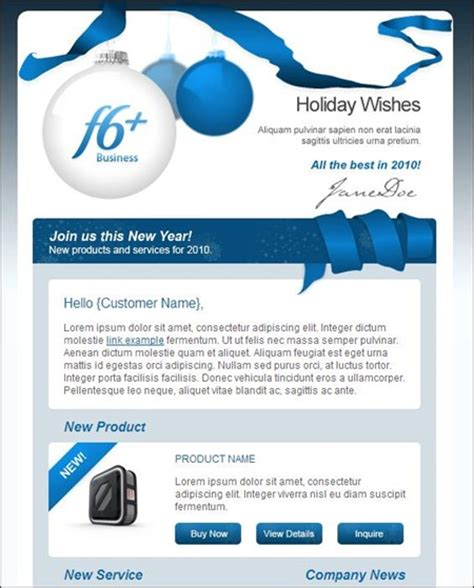 24 Cheerful Christmas Newsletter Templates   Creative
