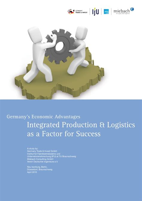 Advantages Of Integrated Mba by Germany 180 S Advantage Integrated Logistics Production