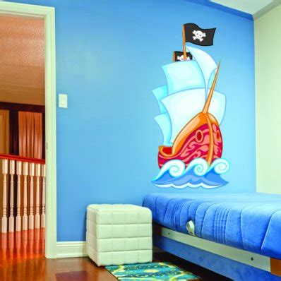 wandtattoo kinderzimmer piratenschiff wandtattoos folies wandsticker piratenschiff