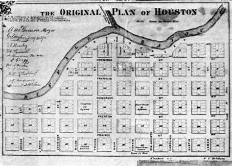 houston library map allen s landing the birthplace of houston houston