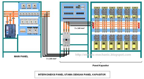wiring diagram panel capacitor bank wiring diagram manual