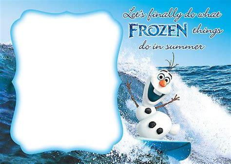 frozen templates frozen invitation template blank all things frozen