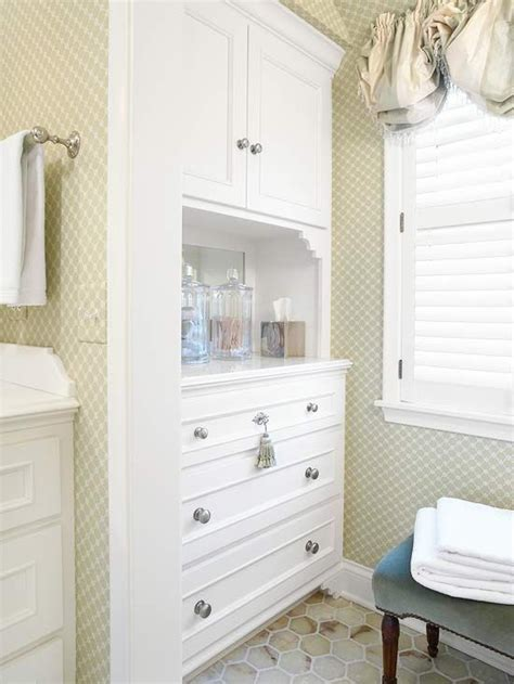 built in cabinets bathroom balloon shades toilets and nooks on pinterest