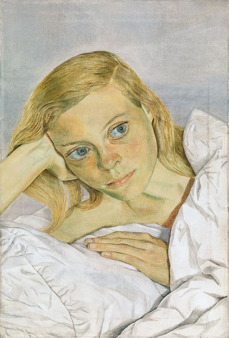girl on bed girl lucien freud s portraits of his second wife