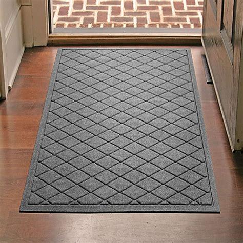 Indoor Front Door Mat Weather Guard 30 Inch X 45 Inch Argyle Door Mat Www Bedbathandbeyond