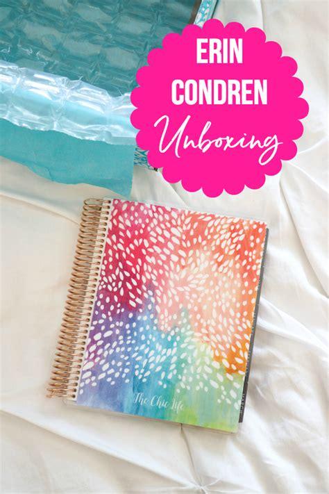Erin Condren Giveaway - erin condren unboxing and giveaway 2018 vertical lifeplanner flip through the chic