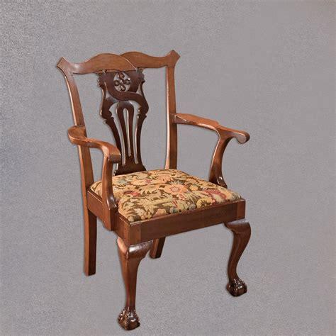 reclaimed armchair antique armchair victorian chippendale revival antiques