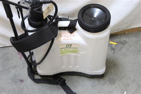 greenwood  home garden backpack sprayer property room