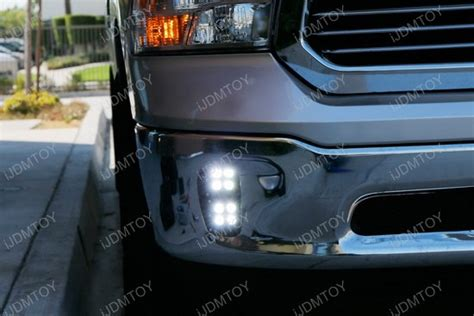 2013 dodge ram 1500 fog light bulb size dodge ram 1500 80w high power cree led fog lights