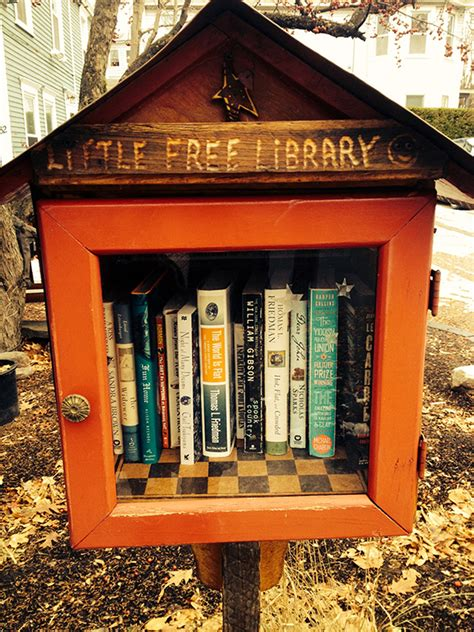 tiny library take a book leave a book in vermont s tiniest libraries