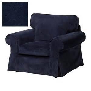 ikea ektorp armchair slipcover chair cover vellinge blue