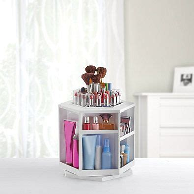 Spin Cosmetic Organizer By L360 White the world s catalog of ideas