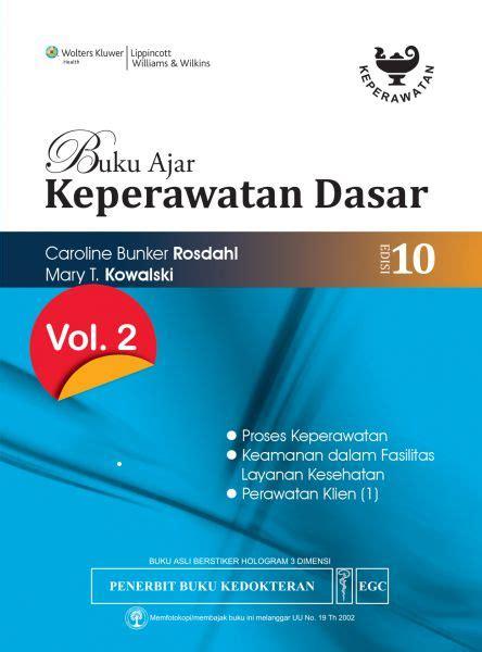 Buku Ajar Ilmu Keperawatan Dasar 2 egc book store