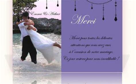 Lettre De Remerciement Mariage Exemple De Remerciement Mariage