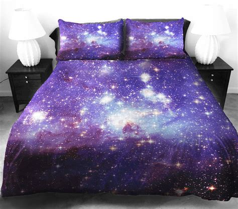 galaxy bed covers anlye galaxy bedding sets bright purple comforter cover