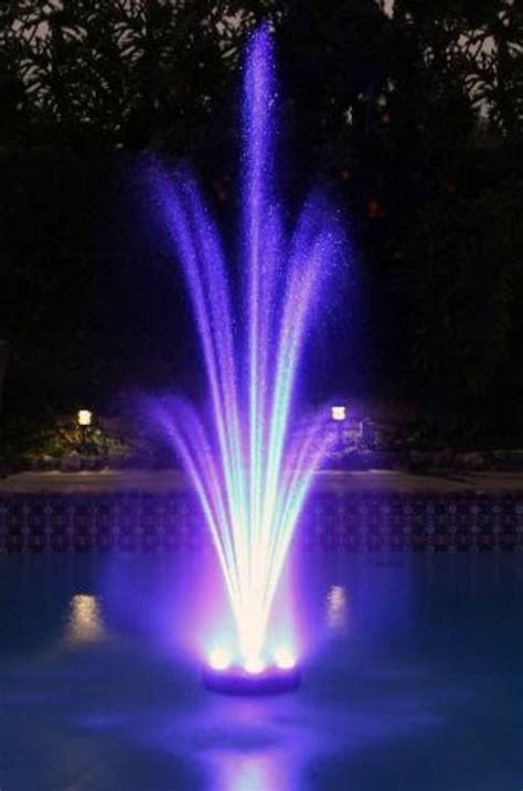 led lights for water fountains muliti color changing led lights pool or pond water