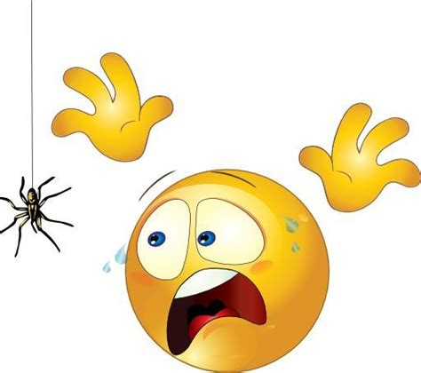 scared smiley scared spider lol emoji lol emoticons emoji fun