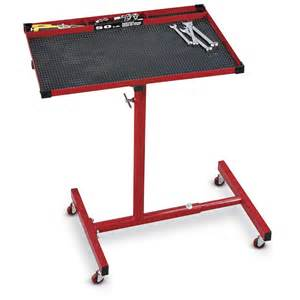 Truck Bed Bench Rolling Adjustable Work Table 137403 Hand Tools Amp Tool