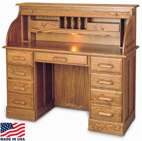 best desk roll top desk oak roll top desk