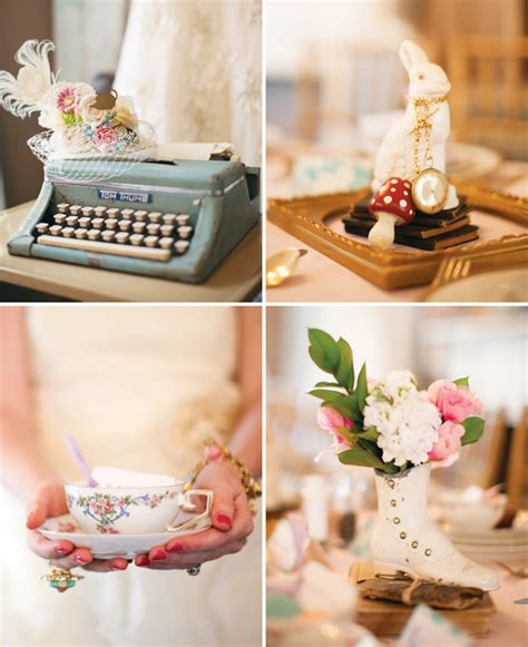 Tea Decor by Vintage Chic Mad Hatter Bridal Shower Hostess With The