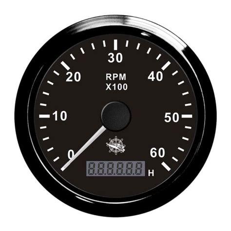 compte tour 224 aiguille avec horam 232 tre 0 6000 rpm sp 233 cial moteur bateau