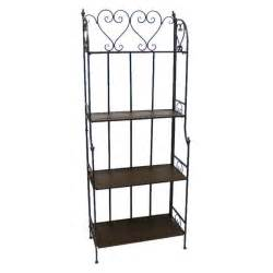 etageres fer forge etagere rectangulaire fer forge charme achat vente