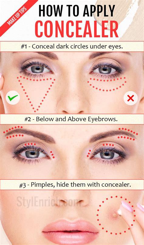 what color concealer should i get how to apply concealer important make up tips just for you