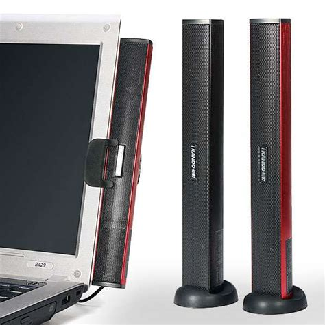 Speaker Laptop Portable ikanoo n12 laptop portable usb sound bar stick speaker