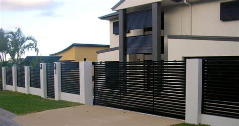 fences and gates design sliding gate pedestrian gate and fence panels concrete
