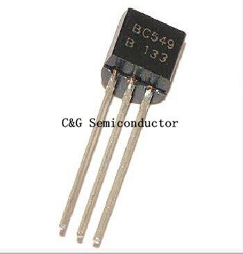 transistor npn c 829 aliexpress comprar 100 unids bc549 bc549b npn transistor silicio de to 92 de de silicio