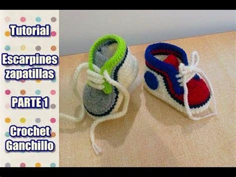como hacer zapatitos tejidos para bebes youtube diy como tejer escarpines zapatitos zapatillas patucos