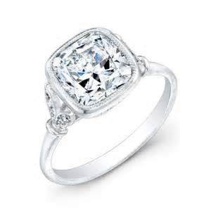 Engagement Rings Cushion Canadian Cushion Cut Engagement Ring