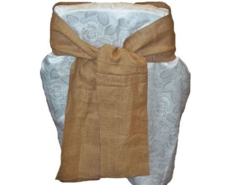 Chair Sashes by Burlap Chair Sashes Your Fabric Source Wholesale