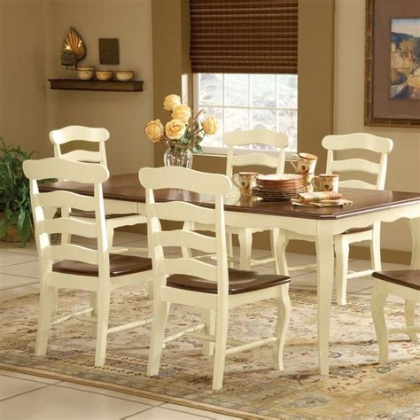 honey colored dining table country wood dining set