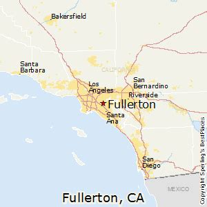 california map fullerton best places to live in fullerton california