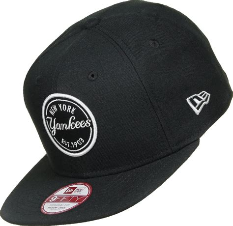 new era mlb new era emblem mlb patch ny yankees snapback black