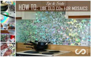 Cheap Beach Wall Murals how to use old cds for mosaic craft projects diy