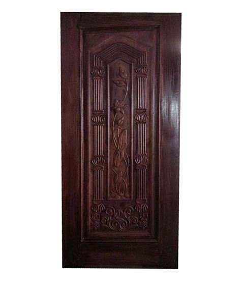 Online Shopping For Home Decor In India by Buy Harmony Decor Dark Brown Door Online At Low Price In