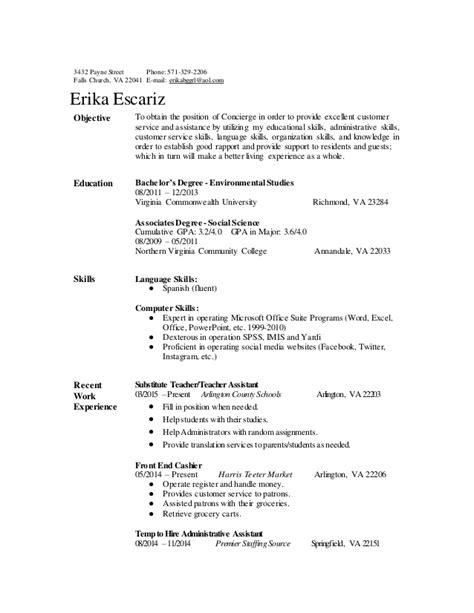 concierge resume 05 16