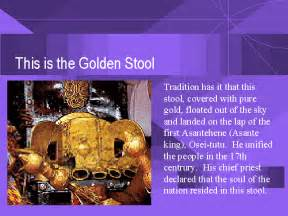history of golden stool
