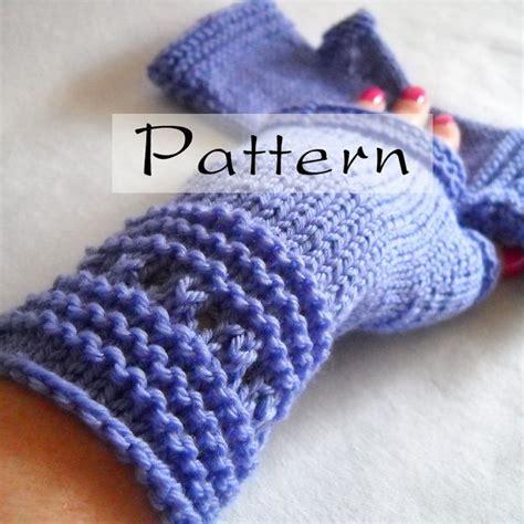 simple pattern fingerless gloves pattern easy elegant hand knit fingerless gloves