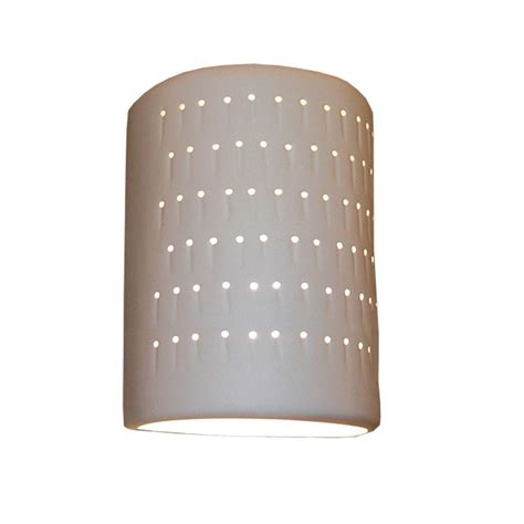 Ceramic Wall Sconce Filament Design Daniel Paintable Bisque Ceramic Outdoor Wall Sconce Cli Edg807723 The Home Depot