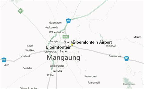 bloemfontein airport weather station record historical