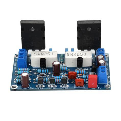 dual full version 1 2 35 dual dc 35v 2sc5200 2sa1943 mono channel hifi audio