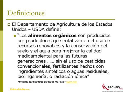 peru guia comercial de productos organicos monografiascom