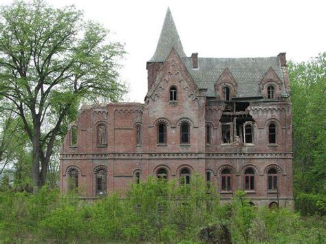 elizabeth schermerhorn jones wyndcliffe derelict mansion rhinebeck new york urban