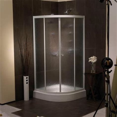 Mirolin Shower Doors Canada with Mirolin Sorrento 38 Inch Acrylic Front Shower Door Base Home Depot Canada Toronto